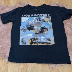 🔥3/30🔥 Overwatch Blizzard Tracer & Winston Shirt
